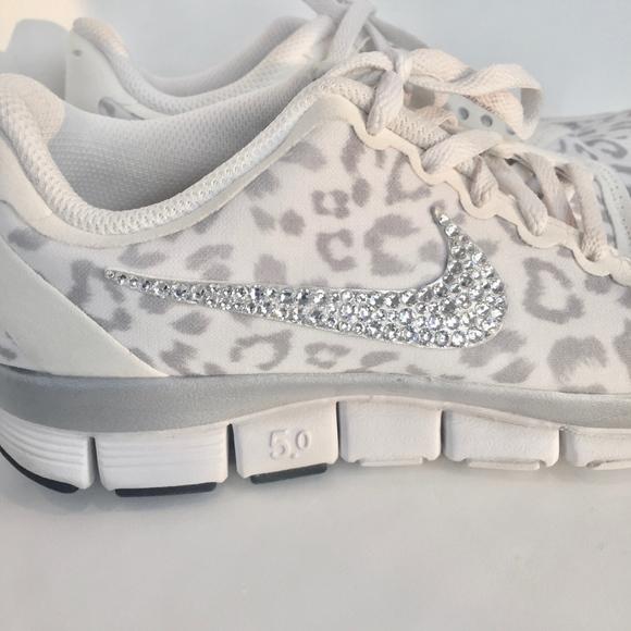 Kaufen 2019 Nike Free Running 5.0 V4 Schwarz Leopard